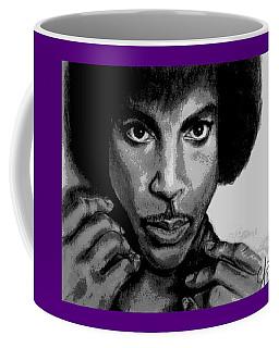 Prince Art - Pencil Drawing From Photography - Ai P. Nilson Coffee Mug