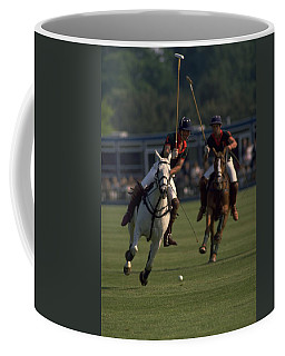 Prince Charles Playing Polo Coffee Mug