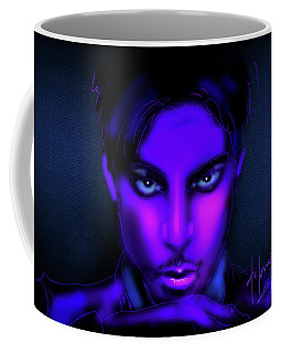 Coffee Mug featuring the painting Prince by DC Langer