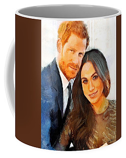 Prince Harry And Princess Meghan Coffee Mug