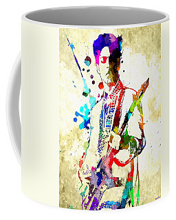 Prince In Concert Coffee Mug
