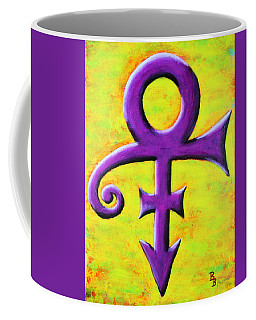 Prince Musician Purple Symbol Coffee Mug