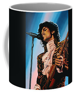 Prince Painting Coffee Mug by Paul Meijering