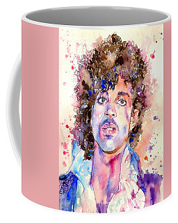 Prince Rogers Nelson Watercolor Coffee Mug