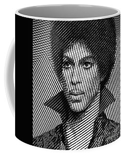 Prince - Tribute In Black And White Sketch Coffee Mug