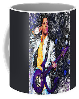 Prince - Tribute With Guitar Coffee Mug