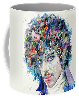 Prince - Watercolor Portrait Coffee Mug