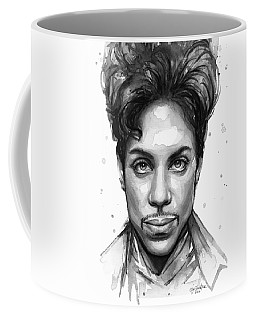 Prince Watercolor Portrait Coffee Mug