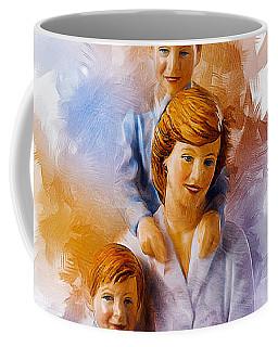 Princess Diana And Children Coffee Mug