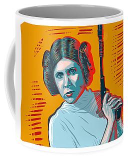 Princess Leia Coffee Mug by Antonio Romero