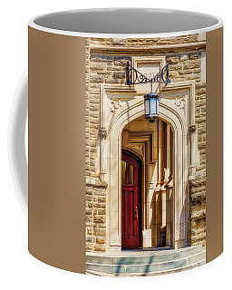 Coffee Mug featuring the photograph Princeton University 1901 Laughlin Hall by Susan Candelario