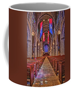 Coffee Mug featuring the photograph Princeton University Chapel by Susan Candelario