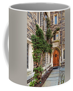 Coffee Mug featuring the photograph Princeton University Foulke Hall II by Susan Candelario