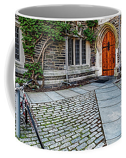 Coffee Mug featuring the photograph Princeton University Foulke Hall by Susan Candelario