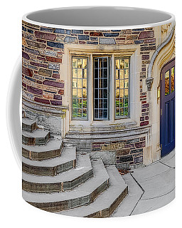 Coffee Mug featuring the photograph Princeton University Lockhart Hall by Susan Candelario