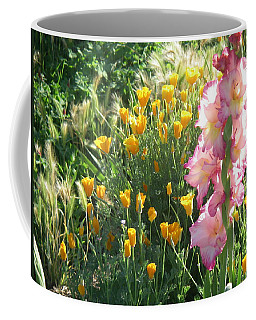 Priscilla With Poppies Coffee Mug