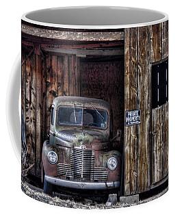 Private Parking Coffee Mug