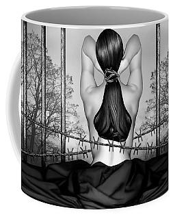 Private Prison Of Pain - Self Portrait Coffee Mug