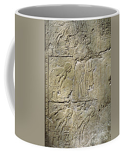 Private Tombs -painting West Wall Tomb Of Ramose T55 - Stock Image - Fine Art Print - Thebes Coffee Mug