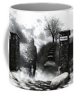 Private Way  Coffee Mug by Mariusz Zawadzki