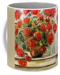 Prize Geranium Coffee Mug