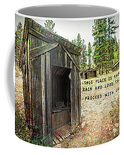 Proceed With Caution Coffee Mug