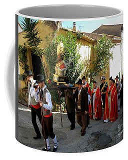Procession Of Saint Clement Coffee Mug