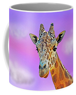 Profile Portrait Of A Giraffe IIi Coffee Mug