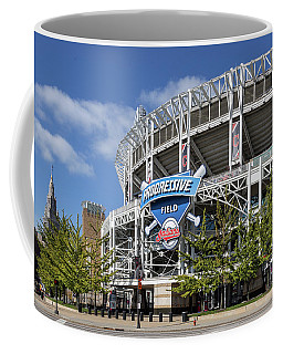Coffee Mug featuring the photograph Progressive Field In Cleveland Ohio by Dale Kincaid