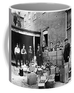 Coffee Mug featuring the photograph Prohibition, 1922 by Granger
