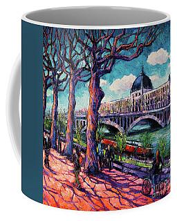 Promenade Along The Rhone Coffee Mug