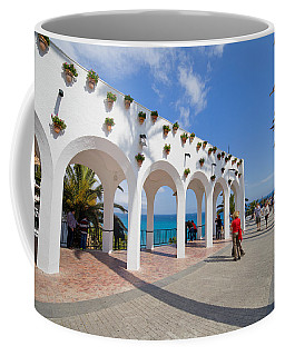 Promenade In Nerja Coffee Mug