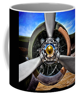 Propeller Art   Coffee Mug
