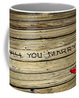 Coffee Mug featuring the photograph Propose To Me by Carolyn Marshall