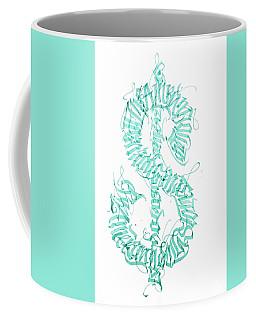 Prosperity. Calligraphy Abstract Coffee Mug