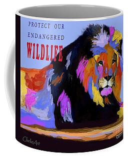 Protect Our Endangered Wildlife Coffee Mug