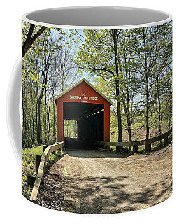Protected Crossing In Spring Coffee Mug