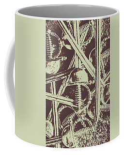 Protecting The Iron Gate Coffee Mug