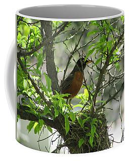 Protecting The Nest Coffee Mug