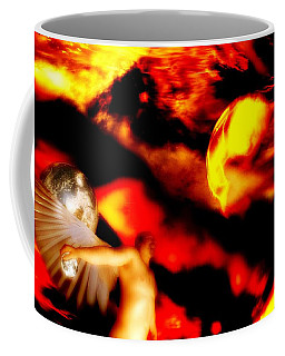 Coffee Mug featuring the digital art Protection by Isabella F Abbie Shores FRSA