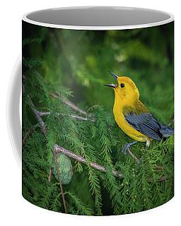 Prothonatory Warbler 9809 Coffee Mug