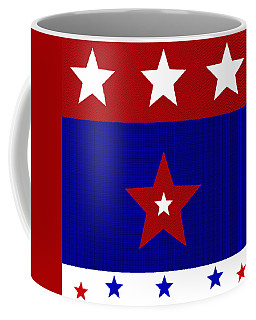 Proud American Stars Coffee Mug