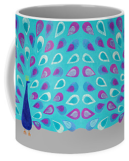 Proud As A Peacock Coffee Mug