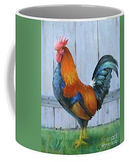 Proud Rooster Coffee Mug by Oz Freedgood