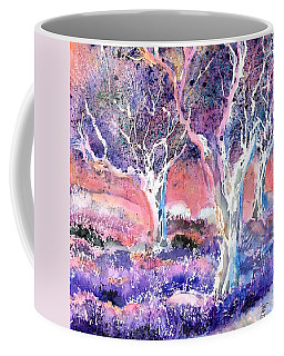 Provence Lavender Field And Olive Trees Coffee Mug