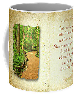 Proverbs Trust In The Lord Coffee Mug by Larry Bishop