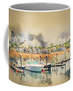Provincetown Harbor Cape Cod Coffee Mug by Jack Torcello