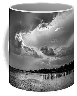 Coffee Mug featuring the photograph Provincetown Storm by Charles Harden