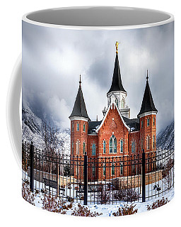 Provo City Center Temple Lds Large Canvas Art, Canvas Print, Large Art, Large Wall Decor, Home Decor Coffee Mug by David Millenheft