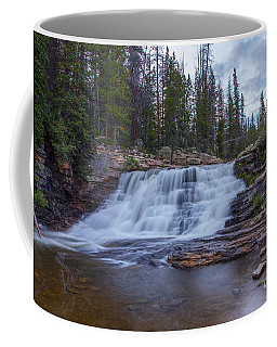 Coffee Mug featuring the photograph Provo River Falls by Spencer Baugh